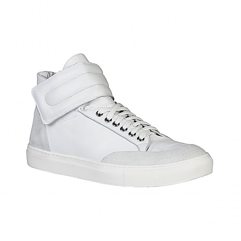 sneakers blanches homme versace. Black Bedroom Furniture Sets. Home Design Ideas