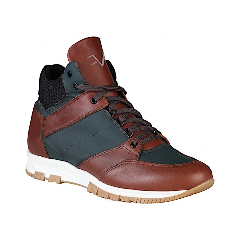 sneakers versace marron