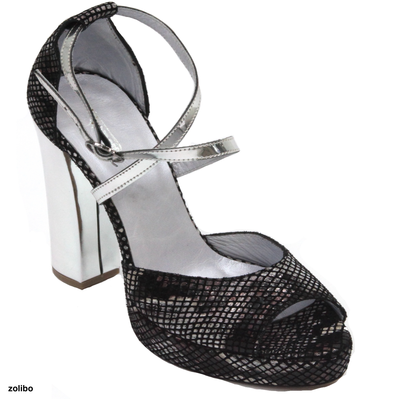 Sandale Sandale À Leto Talon Haute Talon À R54A3Lj