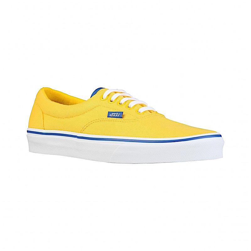 vans jaune homme